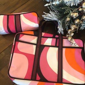 ❤️ Sonia Kashuk Make up/ travel bag with bonus bag